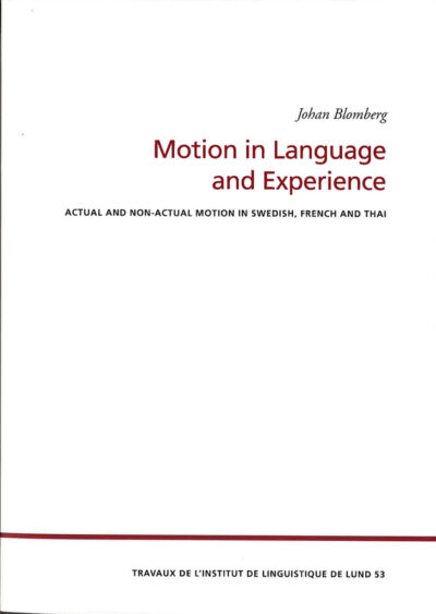 Motion in Language and Experience
