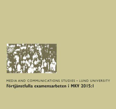Förtjänstfulla examensarbete i MKV