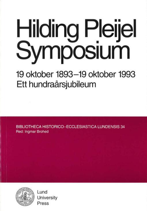 Hilding Pleijel symposium