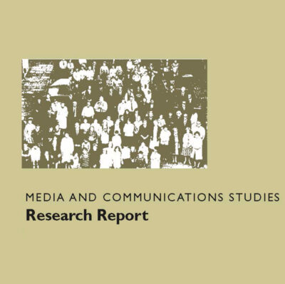 Media and Communication Studies Research Report