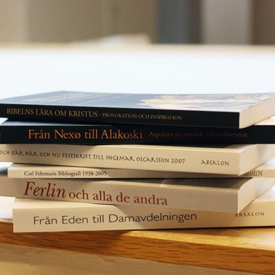 Absalon. Skrifter i litteraturvetenskap utgivna vid Språk- och litteraturcentrum i Lund