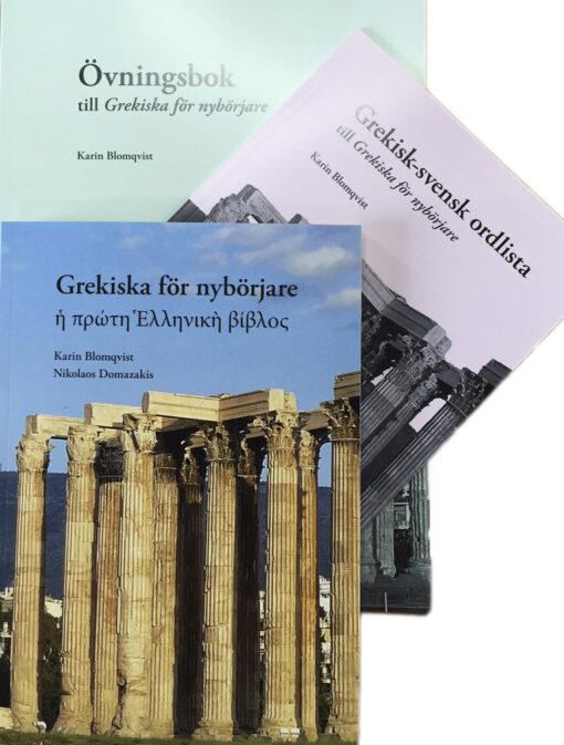 Grekiska för nybörjare (set om 3)